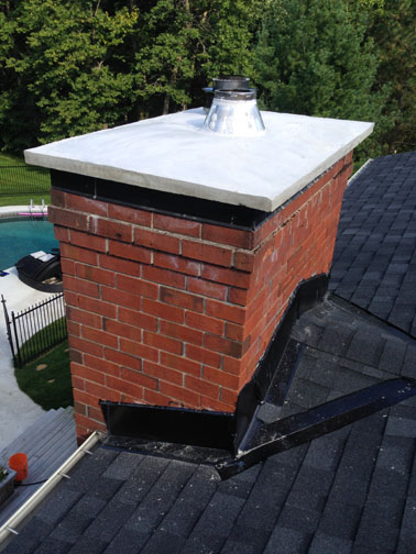 Custom Concrete Chimney Cap Ottawa Masonry Case Study