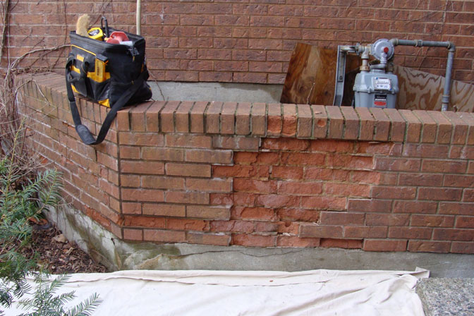 Case Study 10 Retaining Wall Rebuild Ottawa Concrete