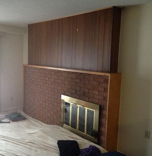 Tv Mount And Stone Fireplace Surround Ottawa Case Study