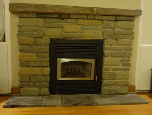 Stone Fireplace Ottawa Case Study Residential Masonry