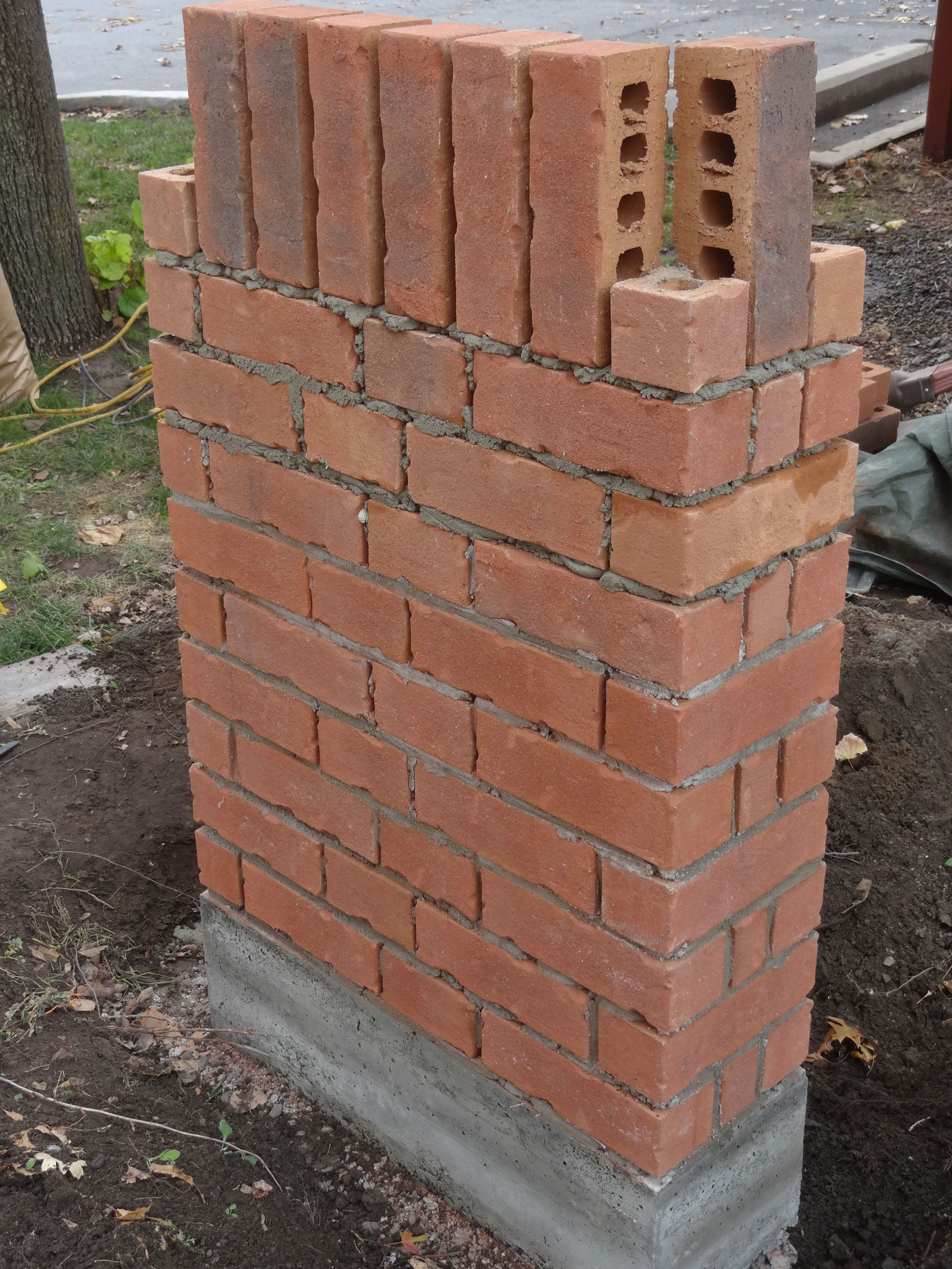 Brick Pillar Soldiers Cours