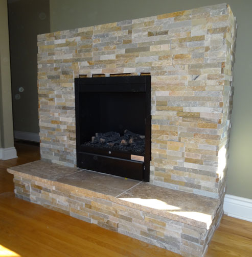 Electric Fireplace Surround