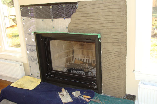 Case Study Fireplace Surround Cultured Stone