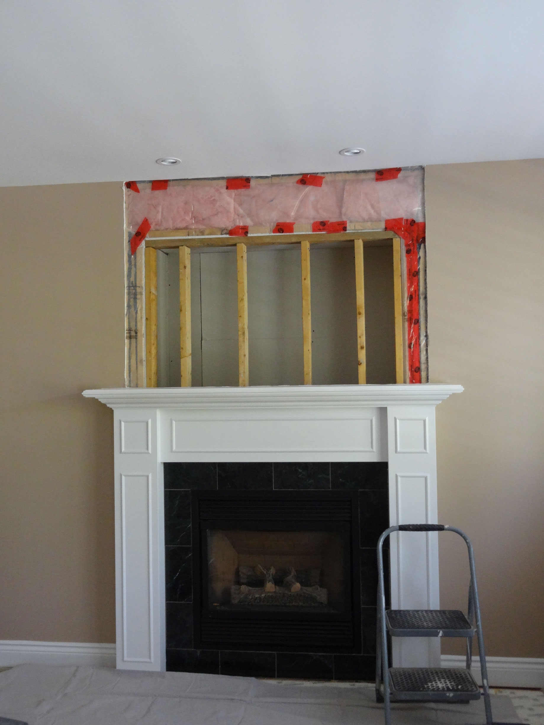 video diy fireplace brick a refinishing videos resurfacing