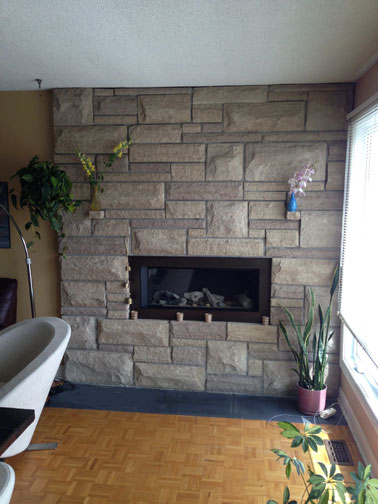 Fireplace Restructuring from Wood to Gas - Ottawa Case study ...