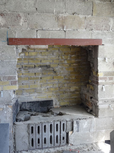Fireplace Restructuring From Wood To Gas Ottawa Case Study Masonry Techniques Photos