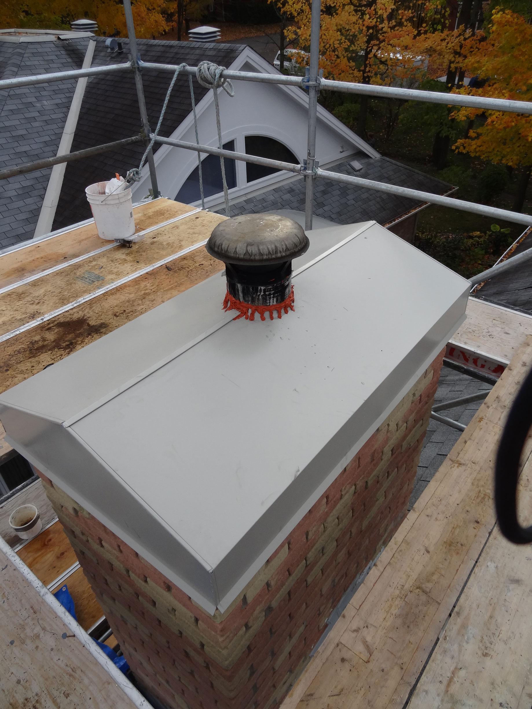 Chimney Rebuild Custom Scaffold Ottawa Masonry Case