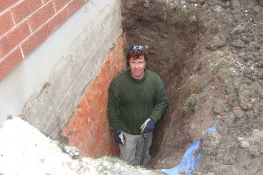 Case Study Concrete Basement Window Concrete Wall Cut