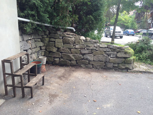 Case Study Stone Retaining Wall Rebuild Ottawa Mymason
