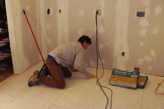 Porcelain Tile Casestudy Flooring Ditra Dry Setting Tiles Thinset