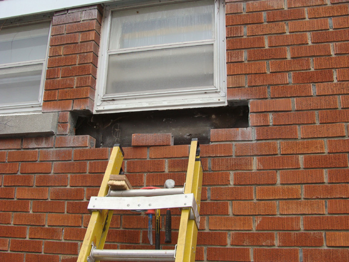 Masonry ottawa masonry services chimney repair alta for Window sill replacement
